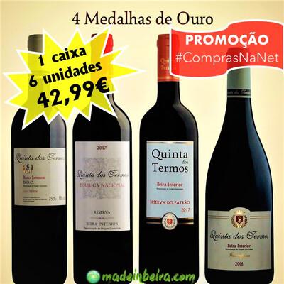 Quinta dos Termos - Vinhos Premiados 2020 (6 un.)