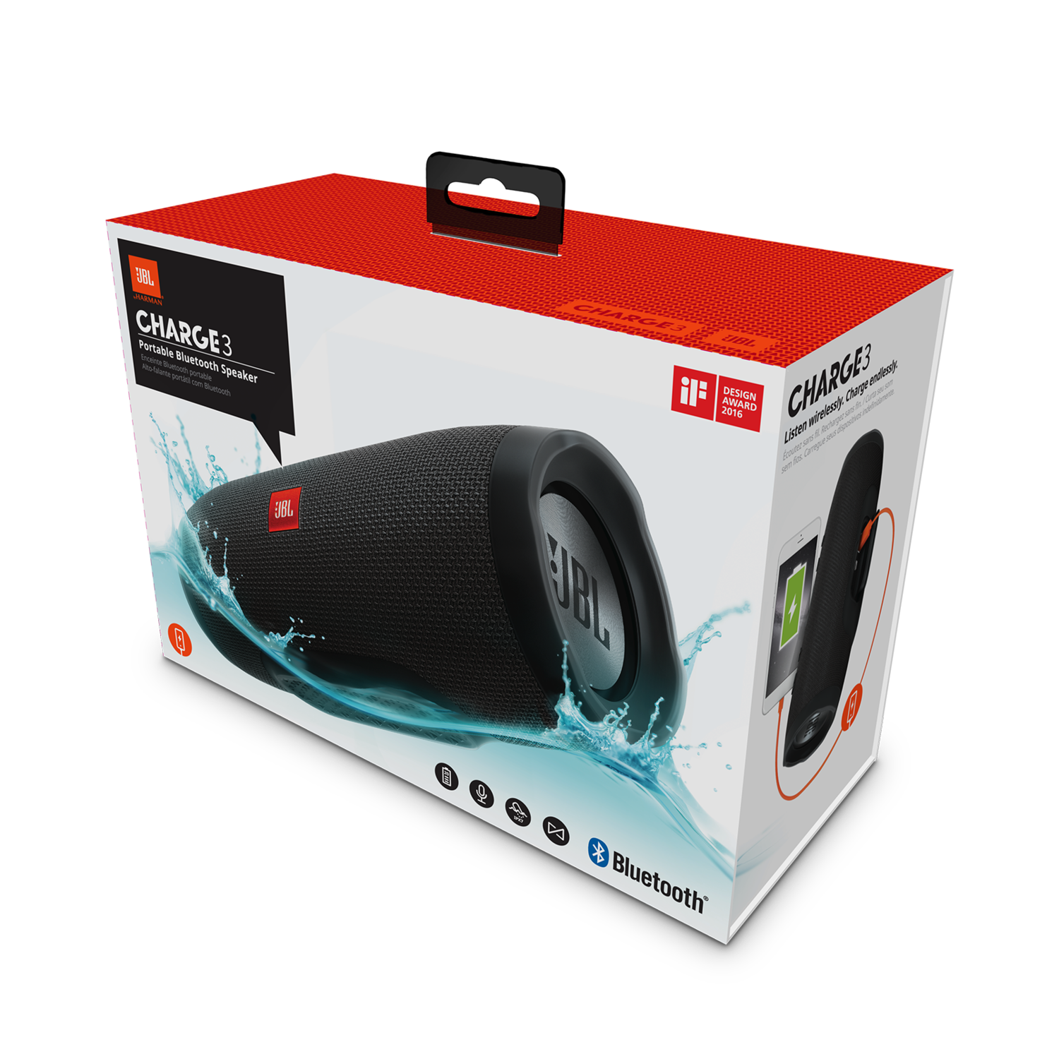 Jbl Charge 3 Limited Military Edition Portable Bluetooth Speaker