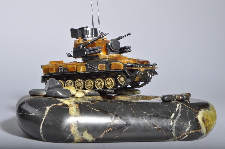 ZSU model Tunguska
