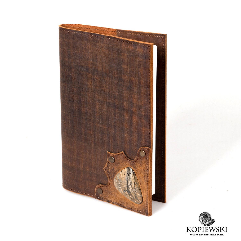Diary A5 with stone Sengilite