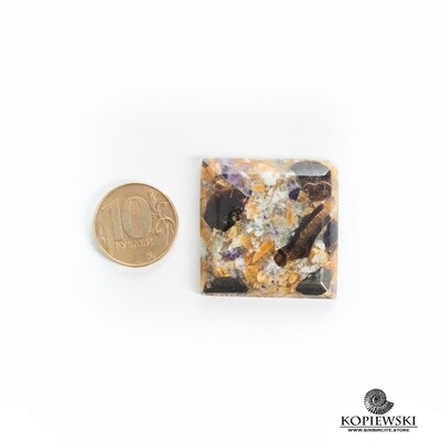 Мозаичный Симбирцит 35*35*6 мм