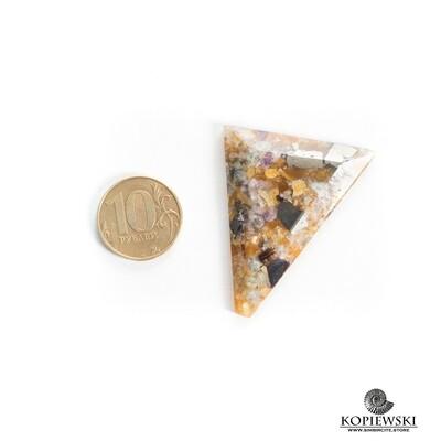 Мозаичный Симбирцит 55*35*8 мм