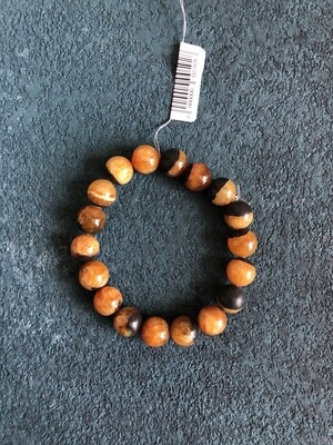 Simbircite stone bracelet (dark)  Ø 11 mm