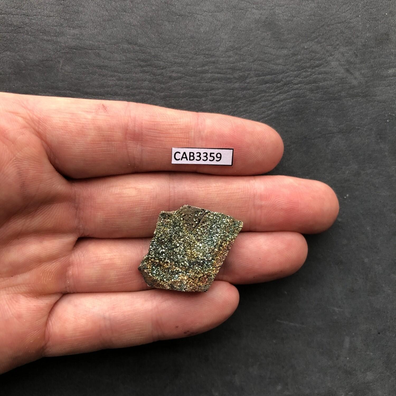 Кабошон Спектропирит (Радужный пирит)