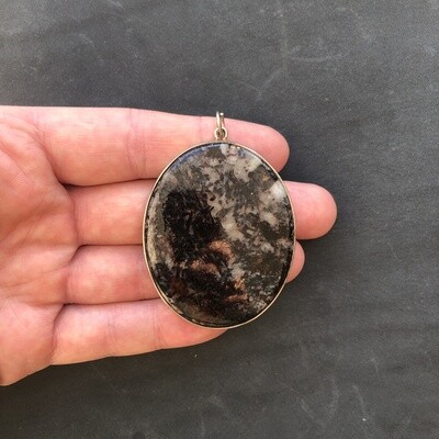Pendant with Astrophyllite (Astrophilite)