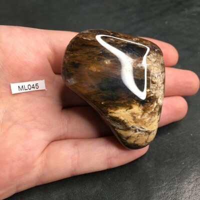 Agate (moss ) tumbled stones