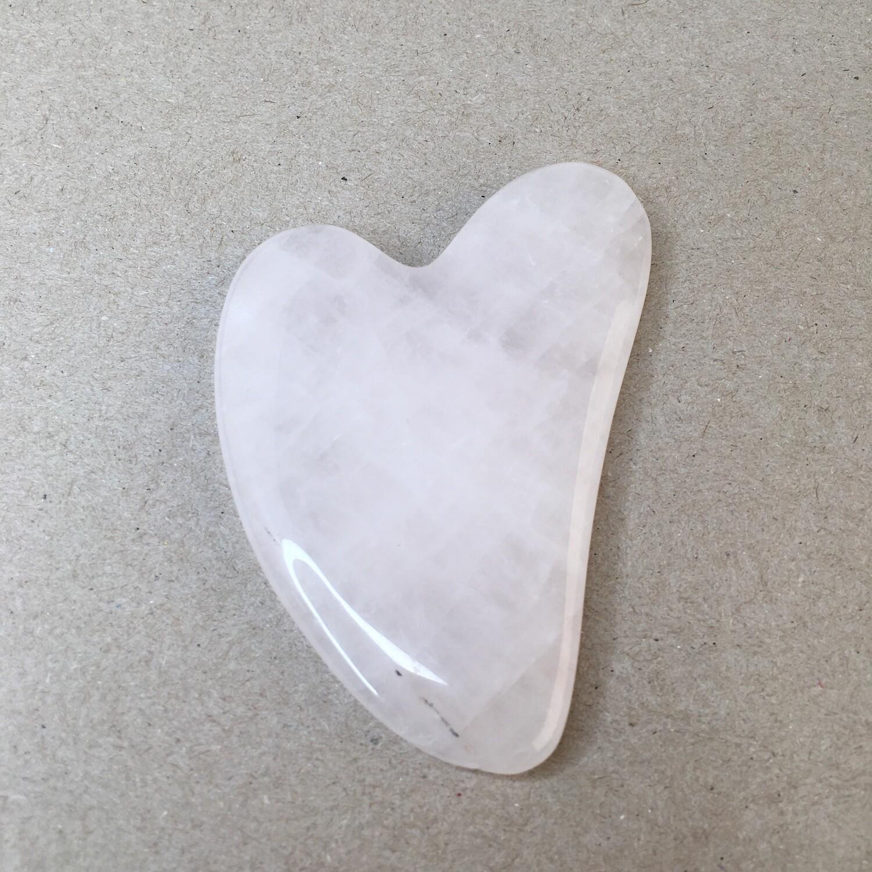 Gua Sha rose quartz