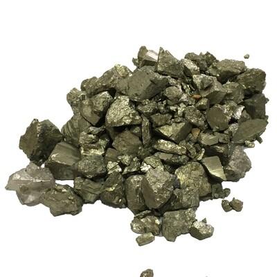 Raw materials Pyrite in assortment 1 kg (2,2 lb)