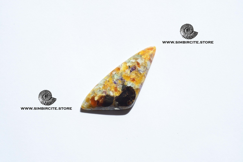 Мозаичный Симбирцит (Владелит) 55*23*5 мм