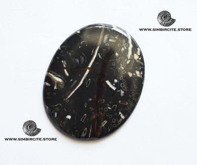 Кабошон танатоценоз 63*50*3 мм