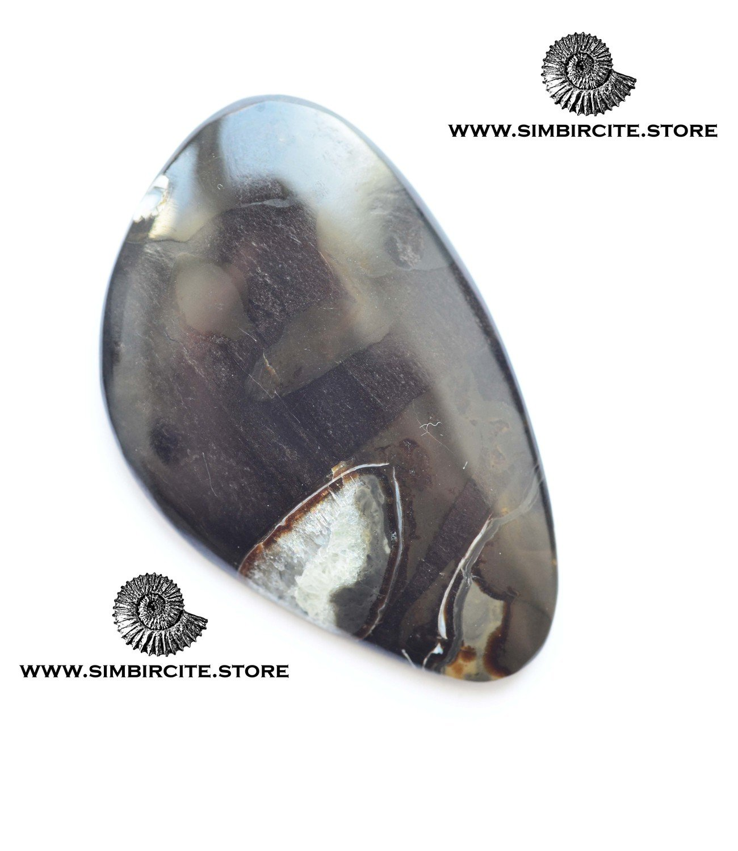 Кабошон танатоценоз 40*30*3 мм