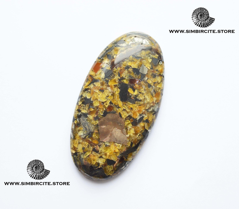 Мозаичный Симбирцит (Владелит) 73*38*9 мм