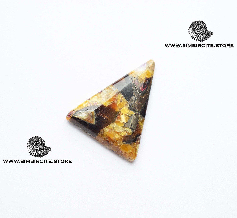 Мозаичный Симбирцит (Владелит) 38*30*4 мм
