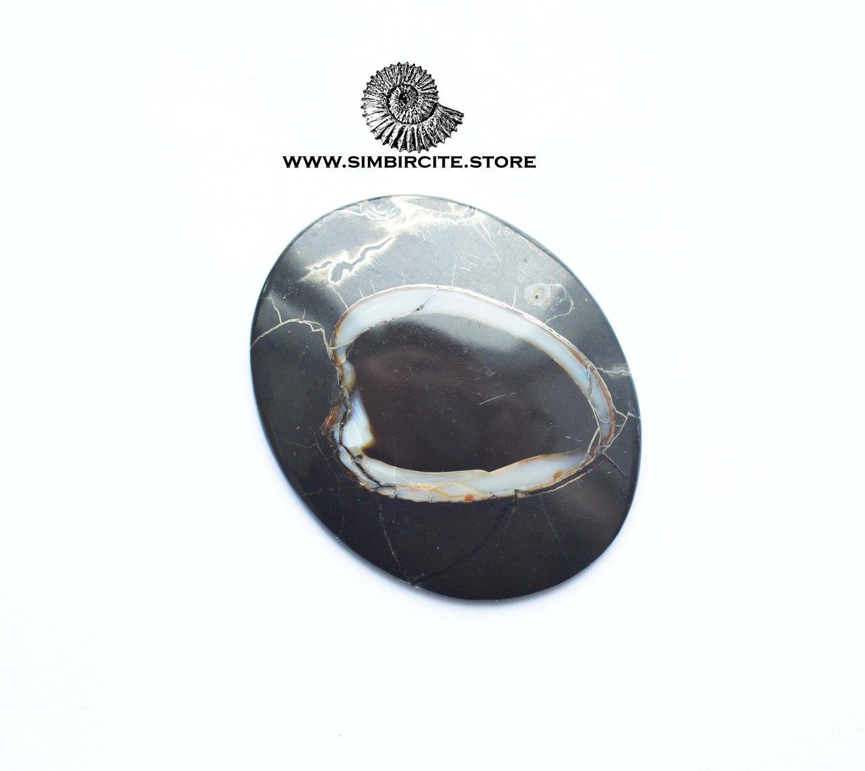 Кабошон танатоценоз 51*47*3 мм