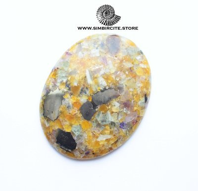 Мозаичный Симбирцит (Владелит) 51*40*5 мм