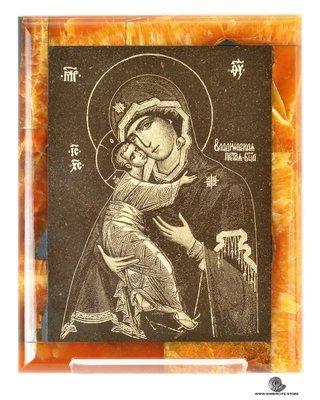 Симбирцитовая икона Владимирской Божией Матери