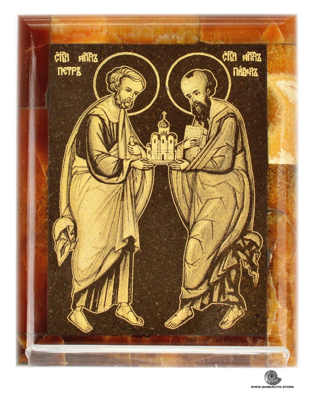 Симбирцитовая икона Святые Апостолы Петр и Павел