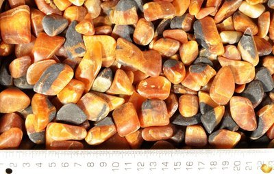 Simbircite tumbled stones (Grinded)