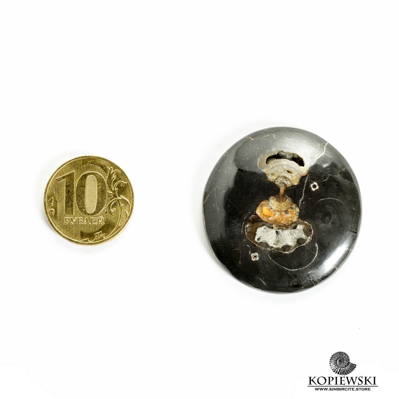 Кабошон танатоценоз 35*35*3 мм