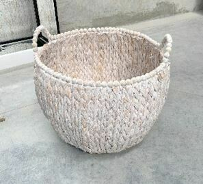 WHITEWASH BASKET - LARGE