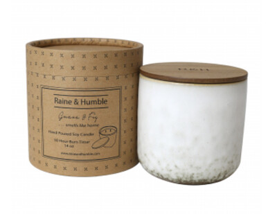 SCENTED SOY CANDLE - GUAVA & FIG