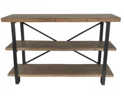 FURNITURE - INDUSTRIAL 3 LEVEL SHELF