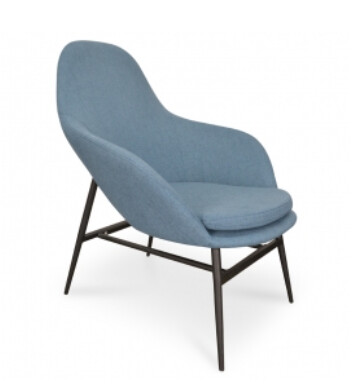 FURNITURE - LOUNGE CHAIR BLUE