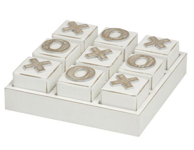 NOUGHTS & CROSSES - WHITE