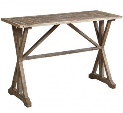 FURNITURE - FRENCH COUNTRY CONSOLE