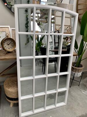 MIRROR - ANNIE WINDOW PANEL IN WHITE
