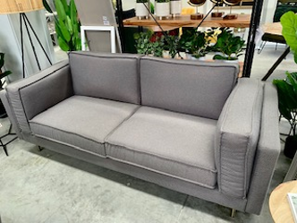 FURNITURE - SOFA JALPA 3 SEATER / GREY