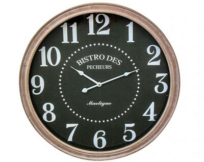 CLOCK BISTRO FRAMED