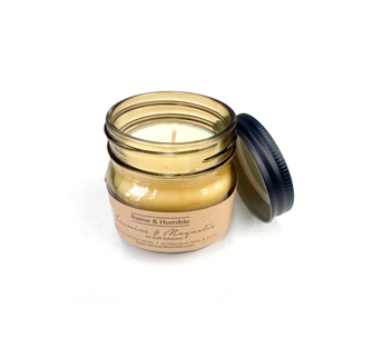 SCENTED SOY CANDLE IN JAR - JASMINE & MAGNOLIA