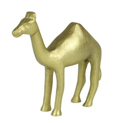 CYRIL CAMEL SCULPTURE GOLD