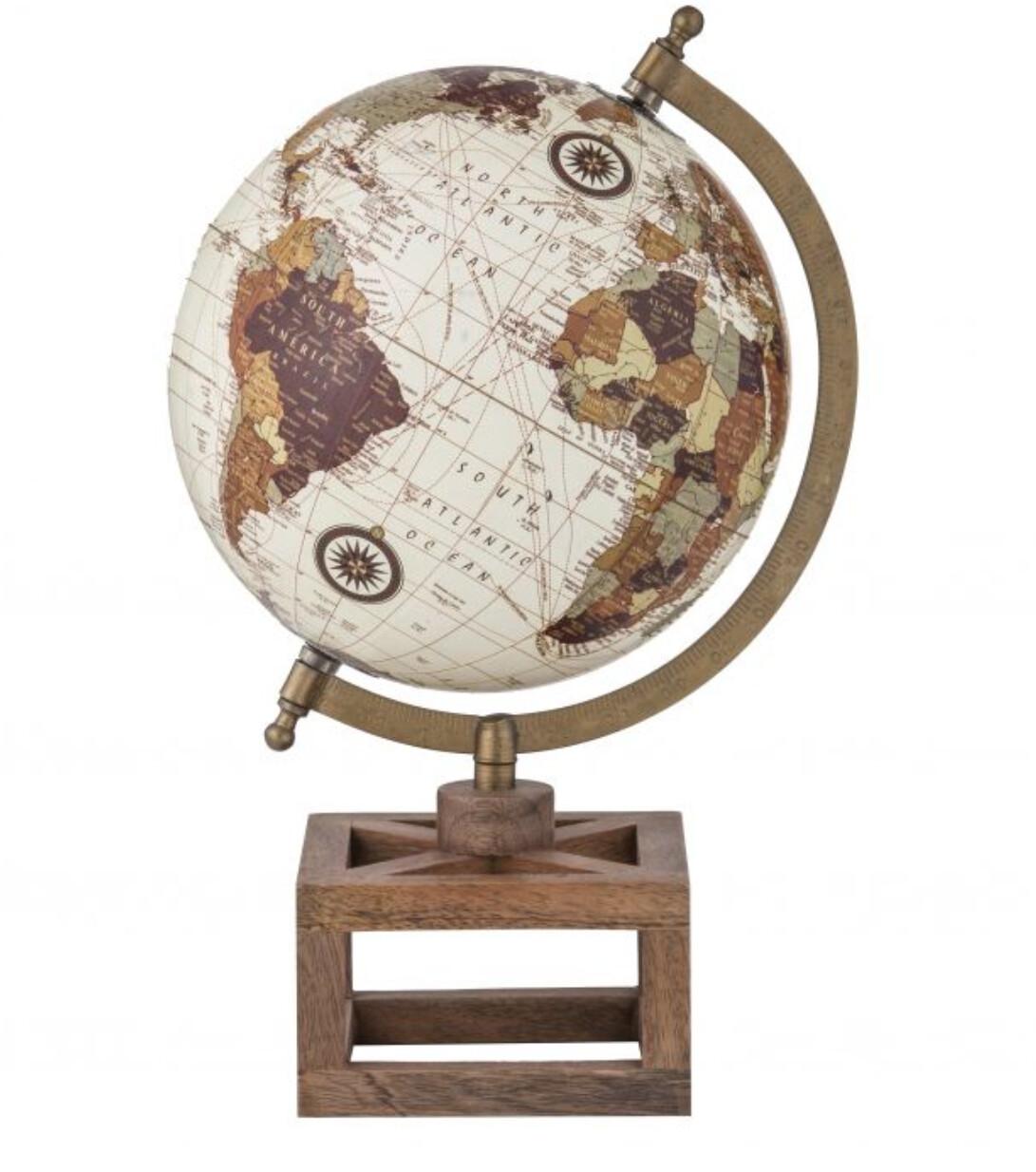 WORLD GLOBE SCULPTURE