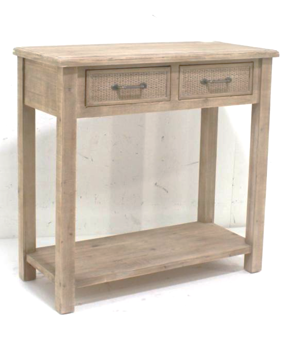 FURNITURE - NATURAL CONSOLE TABLE