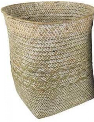 NATURAL RATTAN WOVEN TUB - LARGE
