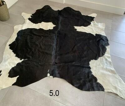 COW HIDE (5) - BLACK & WHITE