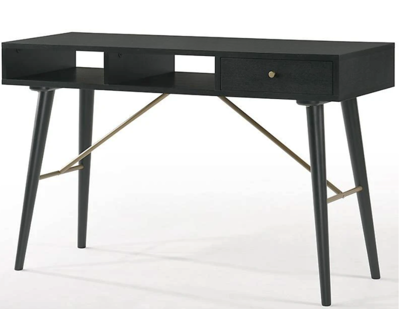 FURNITURE - BLACK ASH CONSOLE TABLE