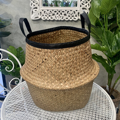 BELLY BASKET BLACK TRIM - LARGE