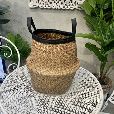BELLY BASKET BLACK TRIM - SMALL
