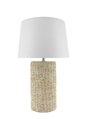LIGHTING - NATURAL CERAMIC LAMP