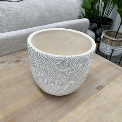CEMENT POT NATURAL