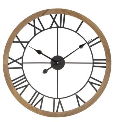 METAL WALL CLOCK - NEUTRAL