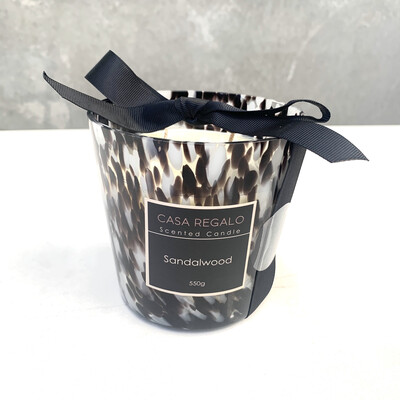 SANDALWOOD SCENTED GLAM CANDLE