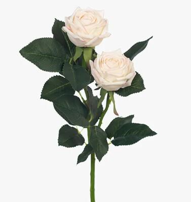 ROSE ARIEL SPRAY - CREAM PINK