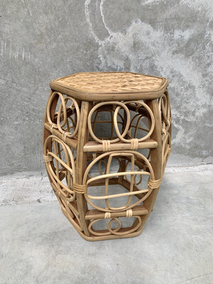 BAMBOO NATURAL SIDE TABLE