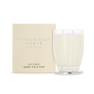 PEPPERMINT GROVE - BURNT FIG & PEAR CANDLE
