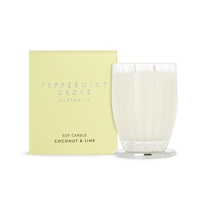 PEPPERMINT GROVE - COCONUT & LIME CANDLE