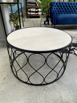 MARBLE COFFEE TABLE - LARGE